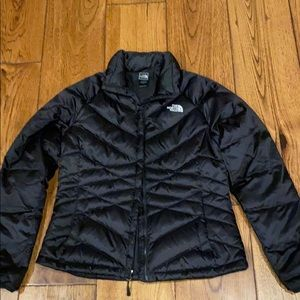 Women's North Face Quilted Puffer Jacket